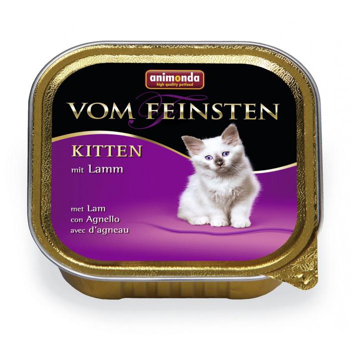 ANIMONDA Vom feinsten kitten Консервы для кошек бараниной
