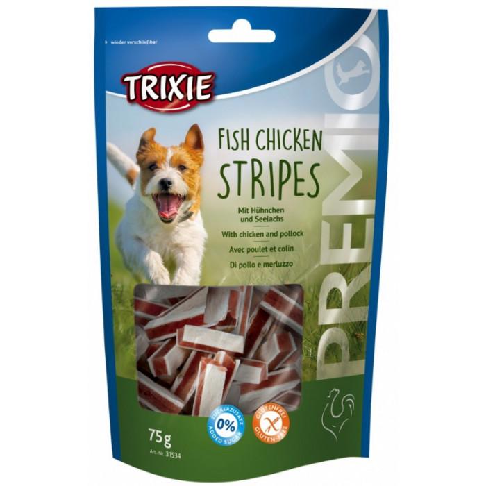 TRIXIE Premio Fish Chicken Stripes koeramaius