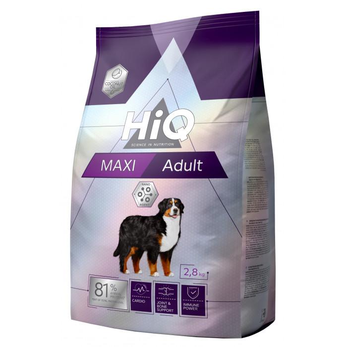 HIQ Kuivtoit koertele Maxi Adult Poultry