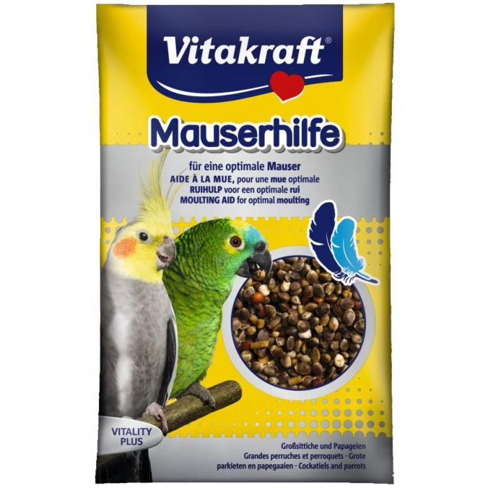 VITAKRAFT Mauser Hilfe vitaminiseeritud maiustused keskmistele ja suurtele papagoidele