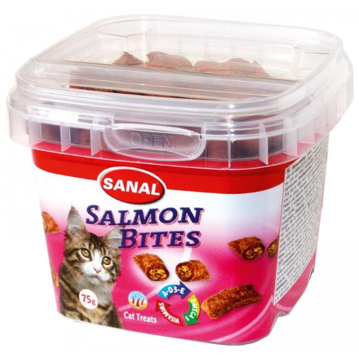 SANAL Salmon Bites Cup toidulisand kassidele