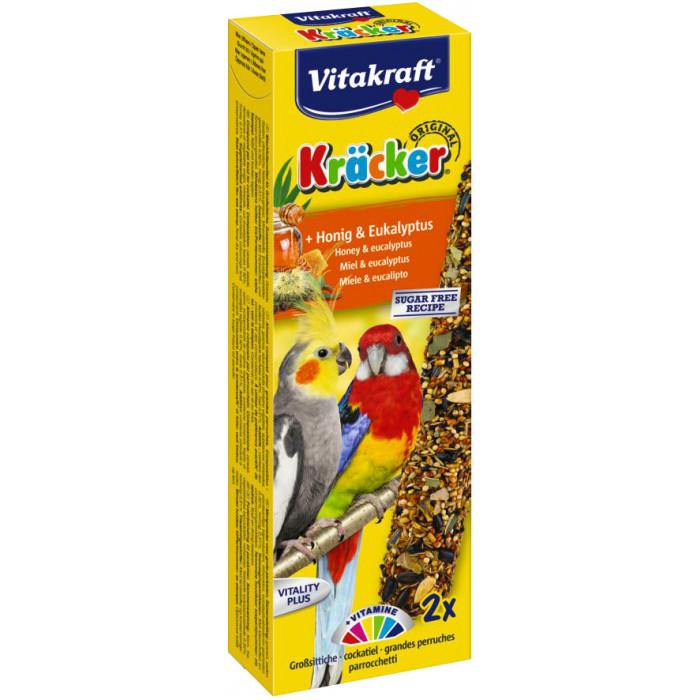 VITAKRAFT Kracker australian honig maiustus keskmistele papagoidele