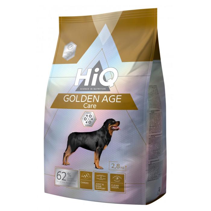 HIQ Kuivtoit koertele Golden Age Care
