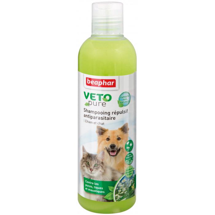 BEAPHAR Veto Pure kirbude, puukide, putukate vastu šampoon koertele ja kassidele