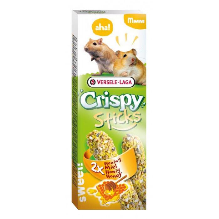 VERSELE LAGA Crispy Sticks meega hamstritele ja liivahiirtele