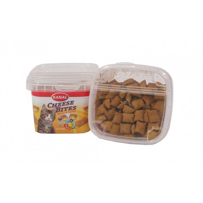 SANAL Cheese Bites Cup toidulisand kassidele