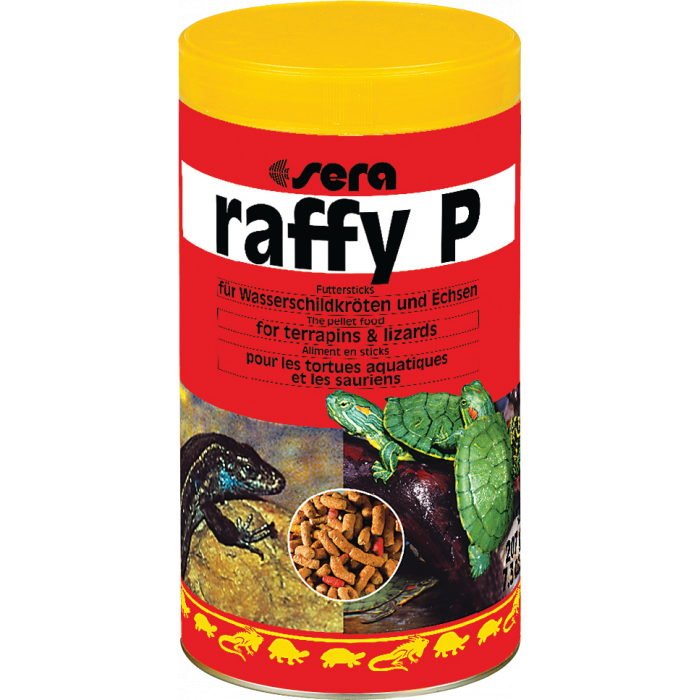 SERA Raffy P igat tüüpi / tõugu kilpkonnadele sööt