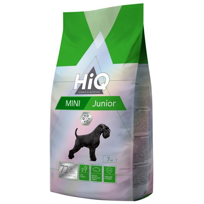 HIQ Kuivtoit koertele Mini Junior Poultry