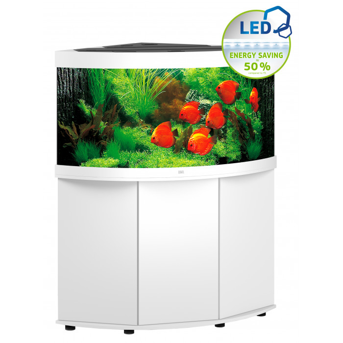 JUWEL LED Trigon 350 akvaarium, nurgeline