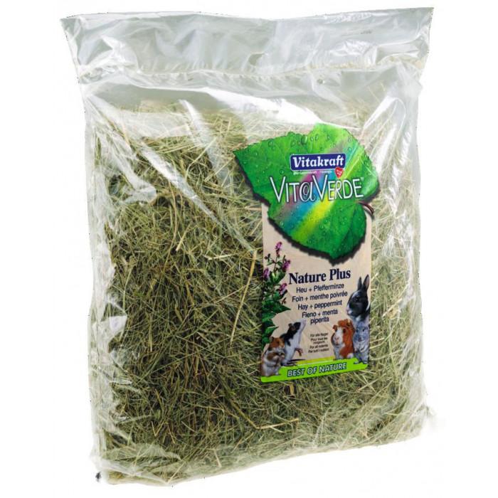 VITAKRAFT Vita Verde Peppermint heina segu piparmündiga