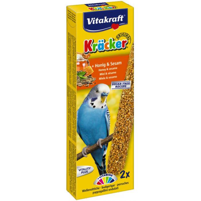 VITAKRAFT Kracker honig maiustus viirpapagoidele