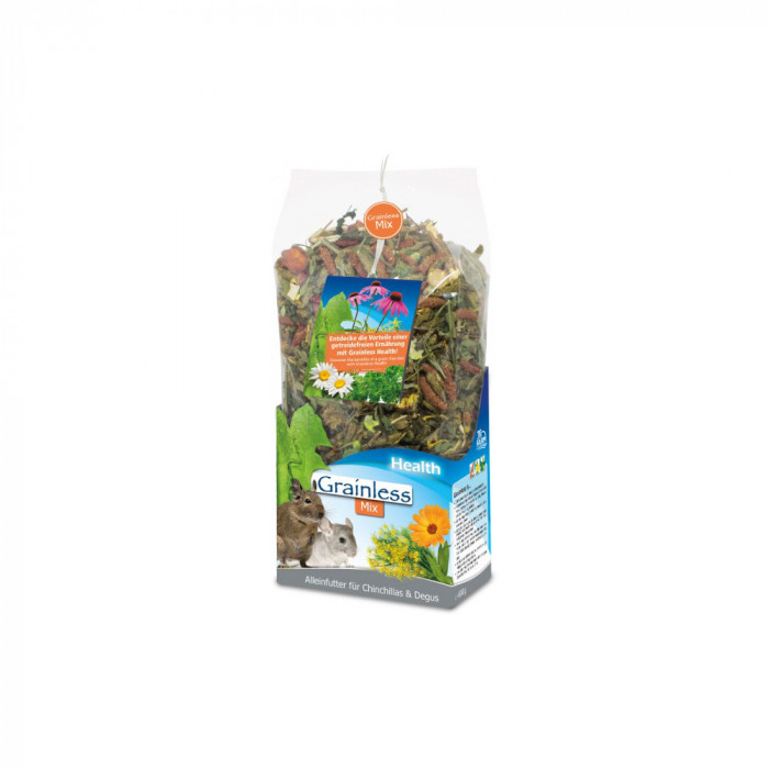 JR FARM Grainless Health Mix toit tšintšiljadele ja deguudele