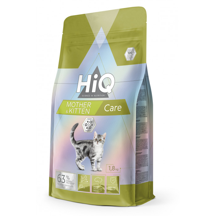 HIQ Kitten & Mother Care kassitoit