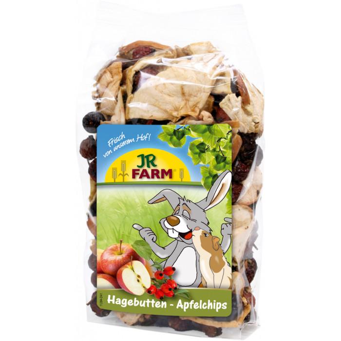 JR FARM Rose Hip Apple Chips toidulisand närilistele