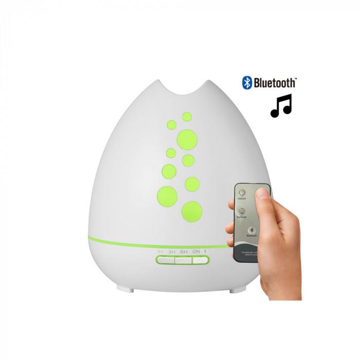 MDM Ультразвуковой диффузор, с пультом и динамиком, белый