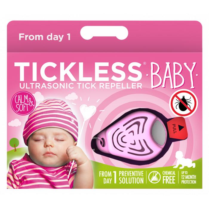 TICKLESS Ultraheliripats puukide ja kirbude tõrjumiseks beebidele TickLess Baby