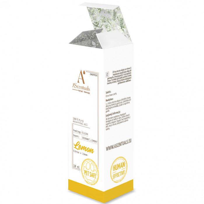 A'SCENTUALS Лимон ефирное масло