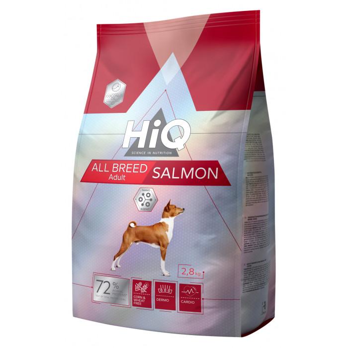 HIQ All Breed Salmon kõigi tõugude koeratoit