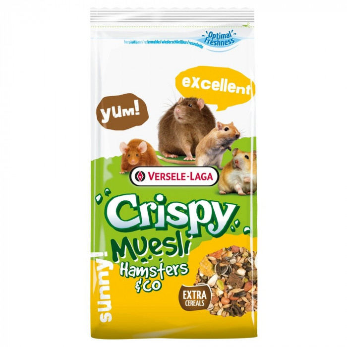VERSELE LAGA Chrispy Hamster krõbe hamstritoit