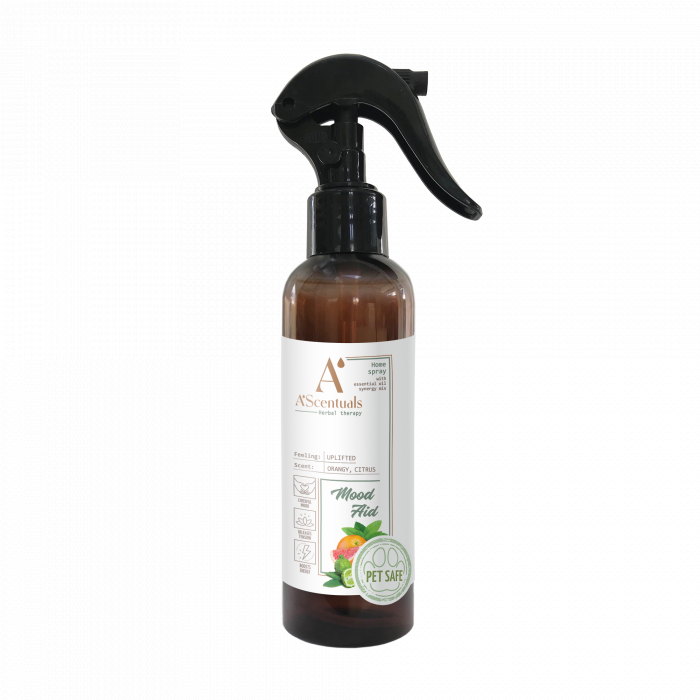 A'SCENTUALS Herbal Home Care Mood Aid kodu lõhnasprei,