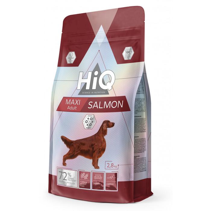HIQ Kuivtoit koertele Maxi Adult Salmon