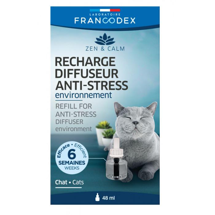 FRANCODEX Диффузор для кошек, Антистресс, дополнение