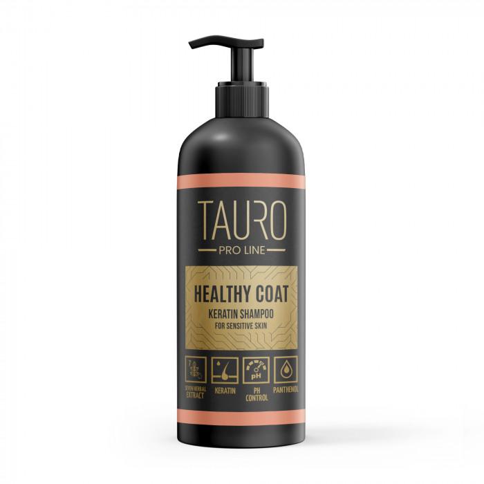 TAURO PRO LINE Healthy Coat Keratin Shampoo, šampoon koertele ja kassidele