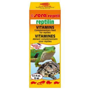 SERA Reptilin Vitamins vitamiinid roomajatele 15 ml