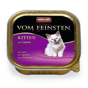 ANIMONDA Vom feinsten kitten Kassikonservid lambalihaga 100 g