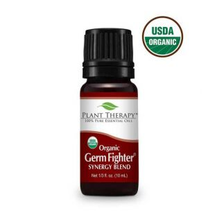 PLANT THERAPY Organic Germ Fighter looduslike eeterlike õlide segu 10 ml