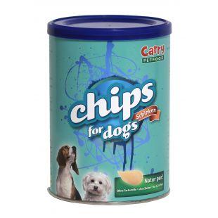 CARRY PETFOOD Лакомства - чипсы для собак, со вкусом ветчины 120 г