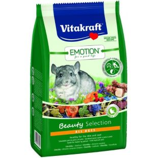 VITAKRAFT Emotion Beauty toit tšintšiljadele 600 g