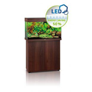 JUWEL LED Rio 125 аквариум цвет темного дерева, 125 л, 81x36x50 см
