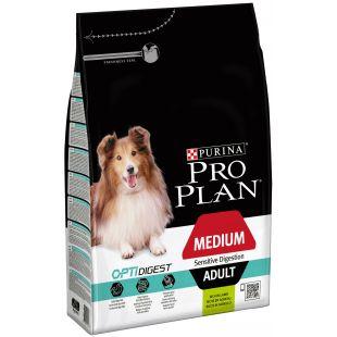 PRO PLAN Kuivtoit koertele Sensitive Digestion Medium Adult Lamb 3 kg