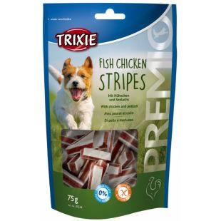 TRIXIE Premio Fish Chicken Stripes  лакомство для собак 75 г