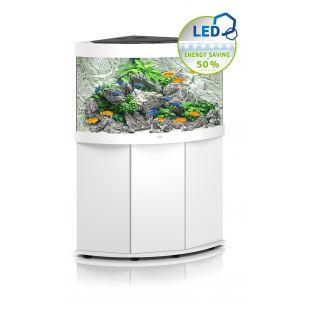 JUWEL LED Trigon 190 akvaarium, nurgeline 190 l, valge *SPEC.
