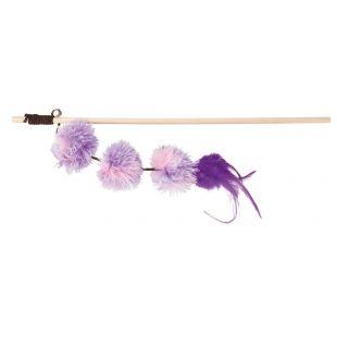 TRIXIE Игрушка для кошек, палочка с мячиками 40 см