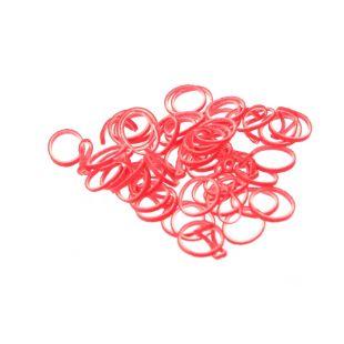 LAINEE Latekskummid, 100 tk, pehmed 8 mm, punane