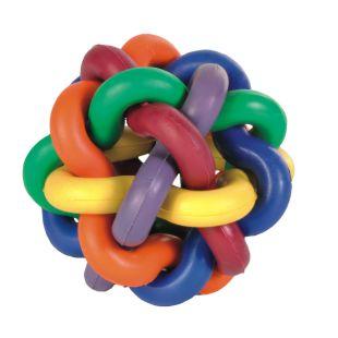 TRIXIE Koera mänguasi, Sõlmedega pall 7 cm