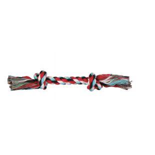 TRIXIE Игрушка для собак, свернутая разноцветная веревка 50 г, 20 см