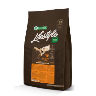 NATURE'S PROTECTION LIFESTYLE Сухой корм для собак Lifestyle Grain Free Salmon with Krill Junior All Breeds 10кг