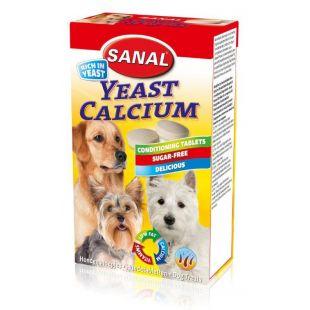 SANAL Dog Yeast Calcium tabletid 100 g