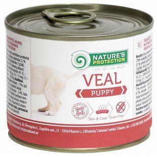 NATURE'S PROTECTION Puppy Veal Konservid kutsikatele 200 g