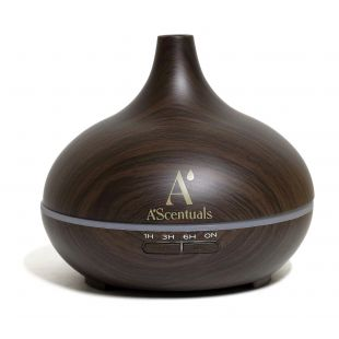 A'SCENTUALS Tumeda puidu imitatsiooniga ultraheli hajuti 300 ml