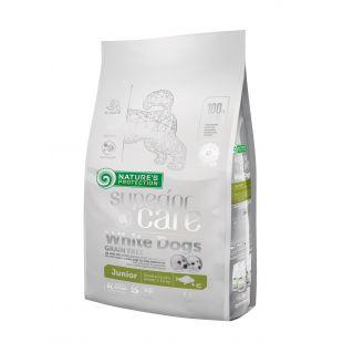 NATURE'S PROTECTION SUPERIOR CARE Сухой корм для собак White Dogs Small & Mini Breeds Junior Grain Free White Fish 1.5 кг