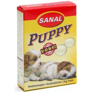 SANAL Dog Puppy кормовая добавка для молодых собак 30 г