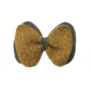 CHEE PET Галстук-бабочка Paw Couture M, желтый