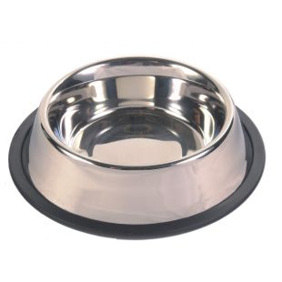TRIXIE Metallkauss elastse ribaga koertele 0,45 l x 14 cm