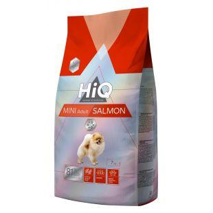 HIQ Kuivtoit koertele Mini Adult Salmon 7 kg
