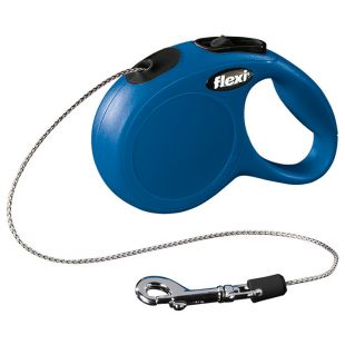 FLEXI Classic automaatne jalutusrihm, maks. 8kg, 3m köis XS, 3 m, sinine